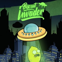 Aroma concentrato 20ml Biscuit Invader by Shake 'N' Vape