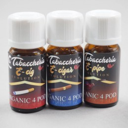 Bundle Aromi La Tabaccheria Organic 4 Pod 10ml