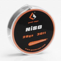 Filo resistivo GeekVape Ni80 28ga