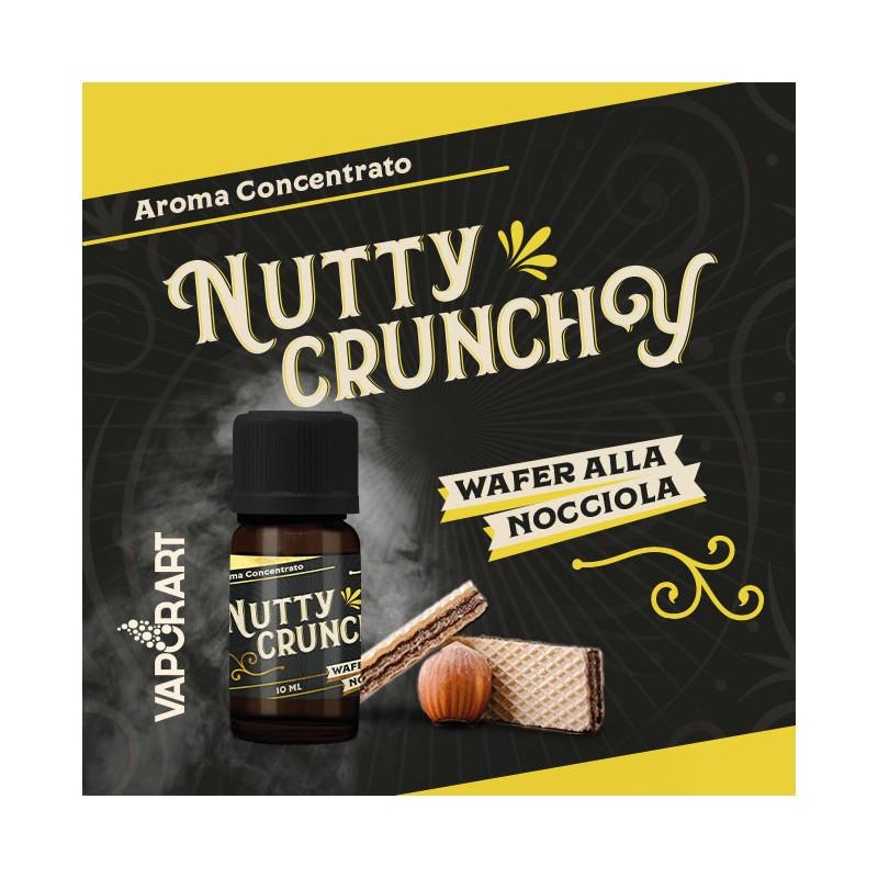 Aroma 10ml Vaporart Nutty Crunchy Premium Blend - Wafer alla Nocciola