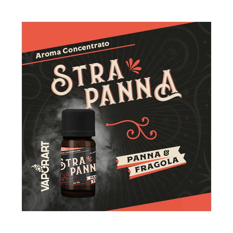 Aroma 10ml Vaporart StraPanna Premium Blend - Panna & Fragola
