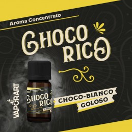 Aroma 10ml Vaporart Choco Rico Premium Blend - Choco-Bianco Goloso
