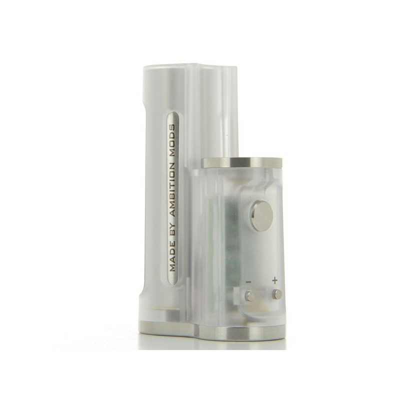 Easy Side Box Mod 60W Clear Frosted by Ambition Mods & SunBox