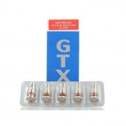 Pacco da 5 resistenze GTX 0,3ohm per Vaporesso Target PM80