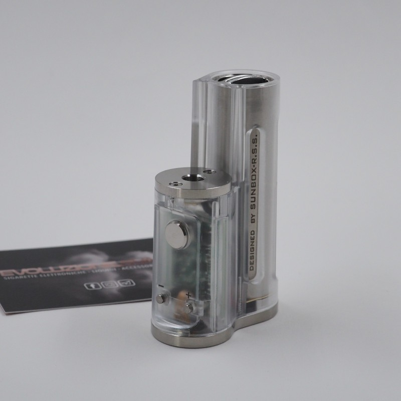 Easy Side Box Mod 60W Clear Polished by Ambition Mods & SunBox
