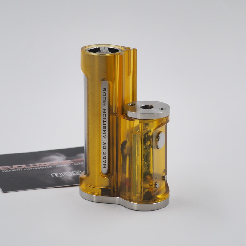 Easy Side Box Mod 60W Ultem Polished by Ambition Mods & SunBox