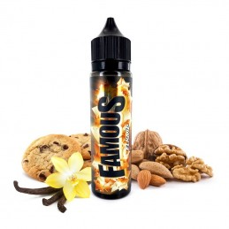 Aroma scomposto 20ml Famous linea Premium Vaping By Eliquid France