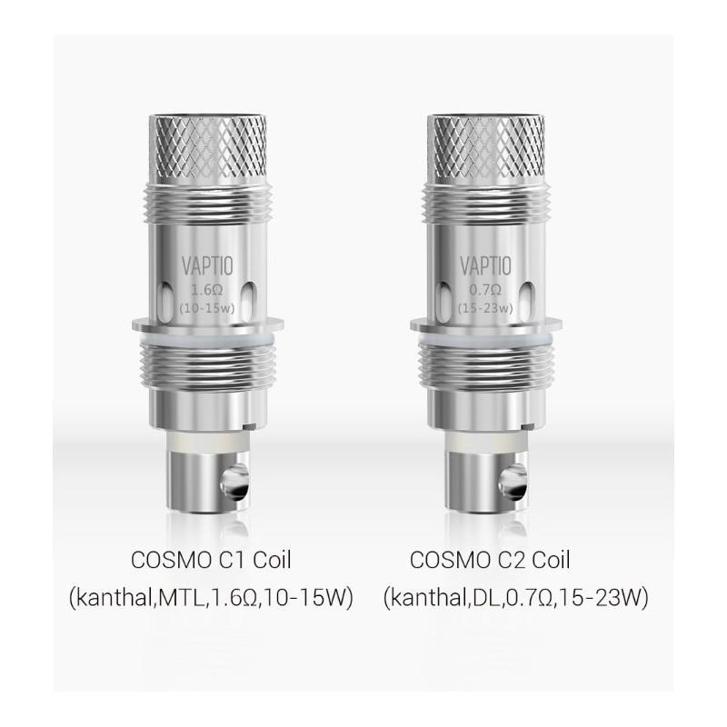 Resistenze di ricambio Cosmo Coil C2 0.7ohm DL 5 pezzi