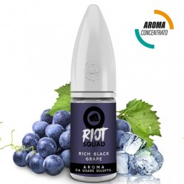 Aroma concentrato 10ml Riot Squad Black Rich Grape