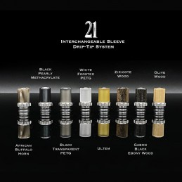 "Drip Tip ""21"" The Vaping Gentlemen Club"