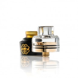 Trinity glass cap per DotRTA Single Coil 22mm