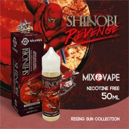Shinobi Revenge Valkiria - Rising Sun Collection - Liquido Mix&Vape 50ml