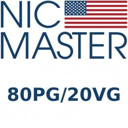 Basette nicotina Nic Master 80/20