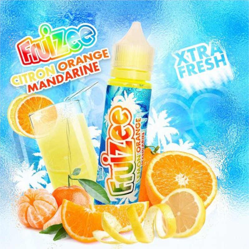 Aroma scomposto 20ml Lemon Orange Mandarin linea Fruizee By Eliquid France