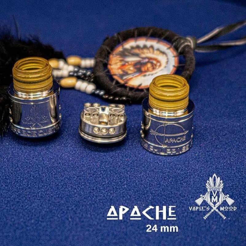 Atomizzatore Apache RDA 24mm - Vaper's Mood