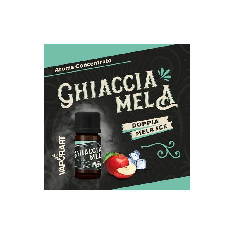 Aroma 10ml Vaporart Ghiacciamela Premium Blend - Doppia Mela ICE