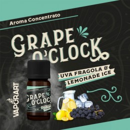 Aroma 10ml Vaporart Grape O'Clock - Premium Blend - Uva Fragola & Lemonade Ice