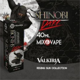 Shinobi Dark Valkiria - Rising Sun Collection - Liquido Mix&Vape 40ml