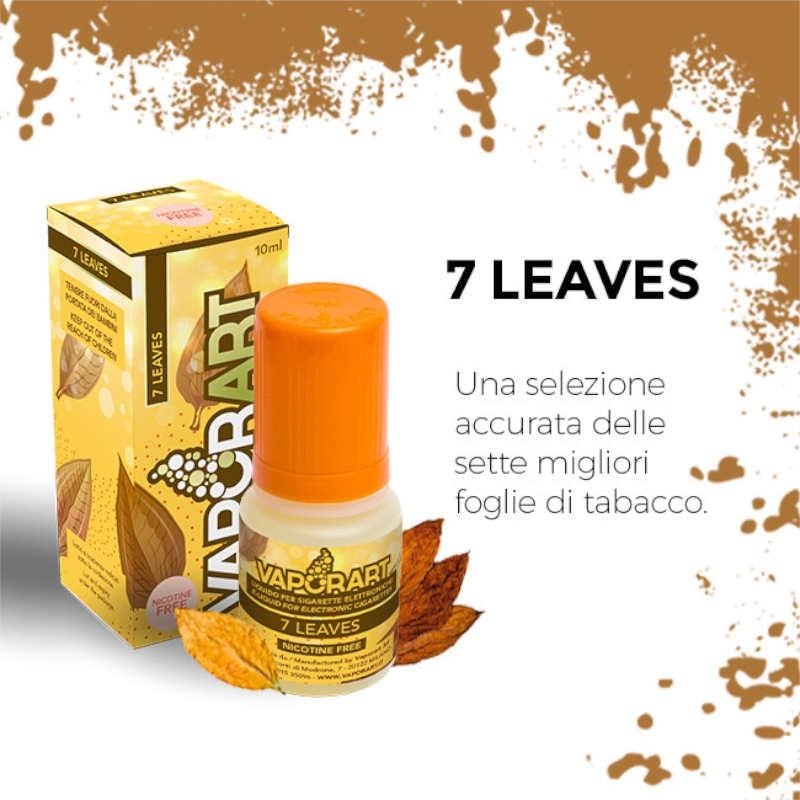 Vaporart 7 Leaves - Liquido pronto 10ml per sigarette elettroniche