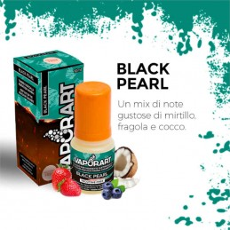 Vaporart Black Pearl - Liquido pronto 10ml per sigarette elettroniche