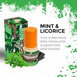 Vaporart Mint & Licorice - Liquido pronto 10ml per sigarette elettroniche