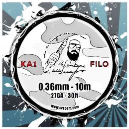 FILO KA1 0,36mm (27ga) - 10 metri - Il Santone dello Svapo