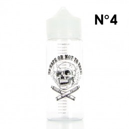 "Boccetta Chubby graduata da 120ml DIY'UP N.4 Teschio ""TO VAPE OR NOT TO VAPE"""
