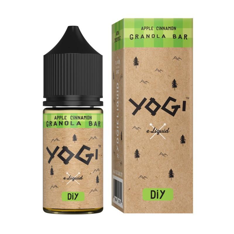 Aroma 30ml Apple Cinnamon Granola Bar di Yogi e-Liquid