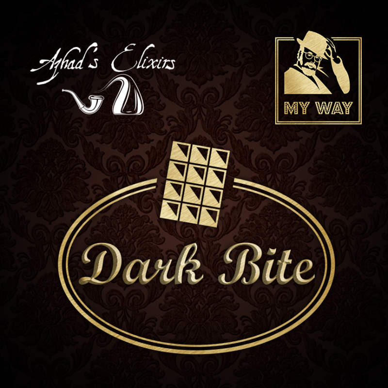 "Aroma 10ml Dark Bite linea ""My Way"" by Azhad's Elixirs"