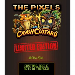 Aroma Scomposto 20ml Crash Custard Limited Edition by Pixels Flavour