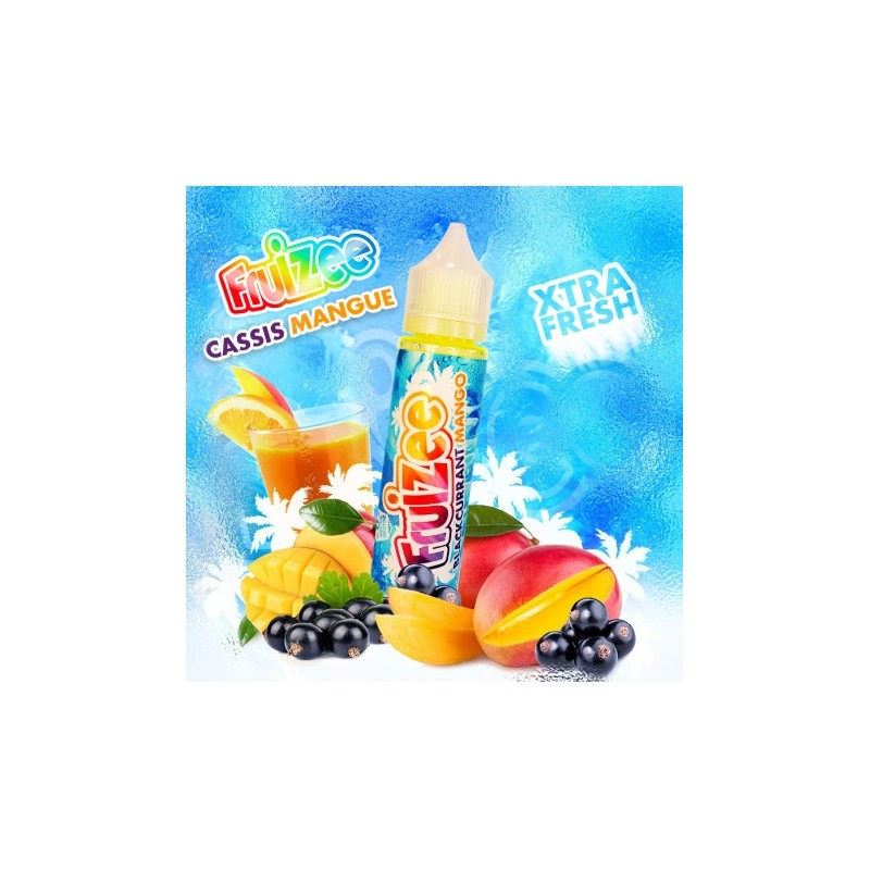 Aroma scomposto 20ml Blackourrant Mango linea Fruizee By Eliquid France