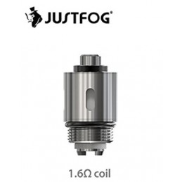 Testina sostitutiva da 1,6Ω per atomizzatori Justfog