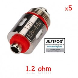 Testina sostitutiva da 1,2Ω per atomizzatori Justfog