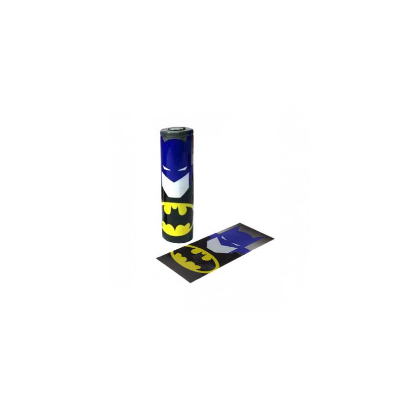 Wrap per batterie 18650 Batman