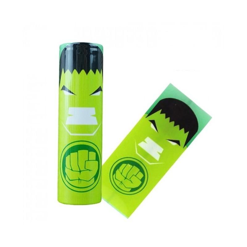 Wrap per batterie 18650 Hulk