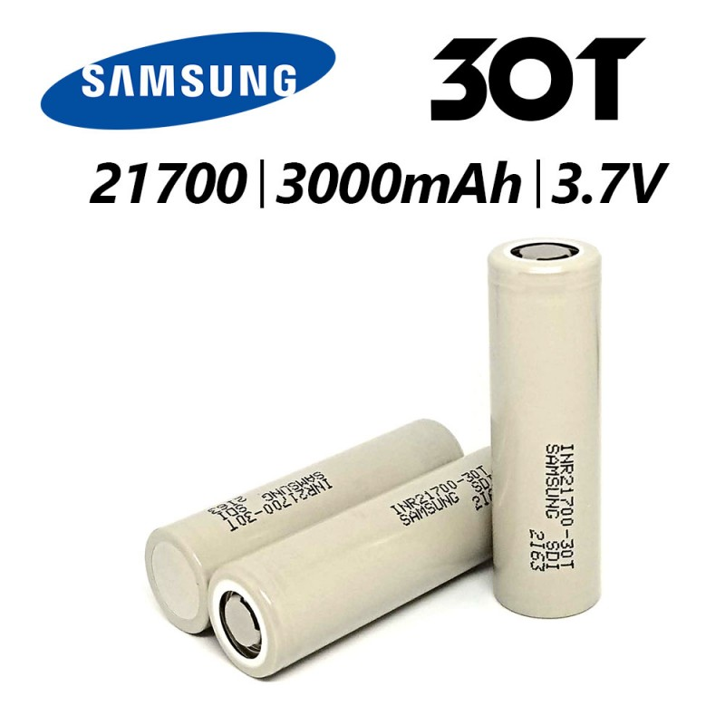 Batterie Samsung 21700 - 30T - 35A - 3000mAh