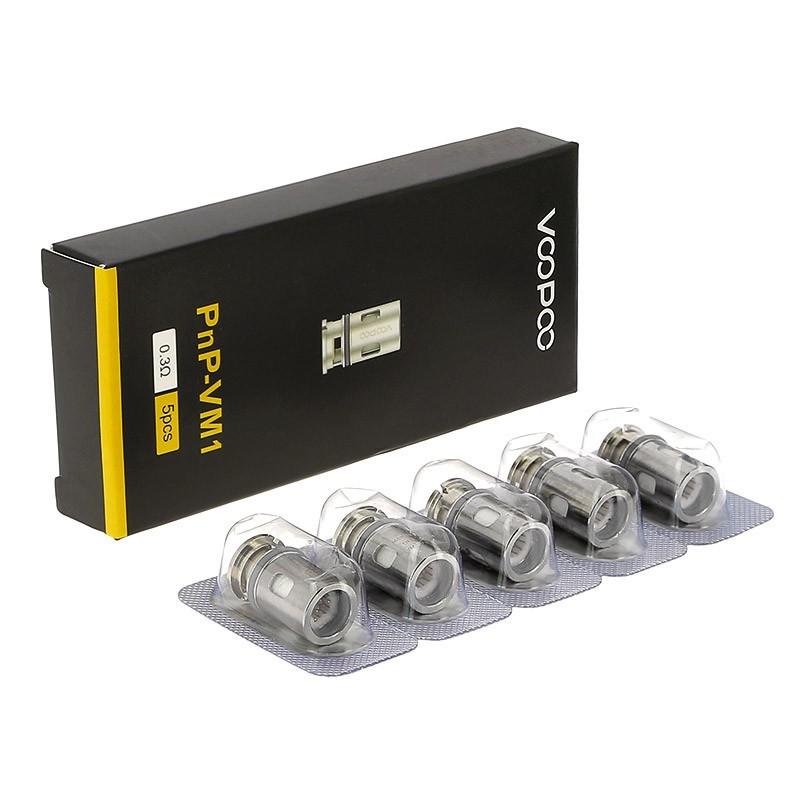 Testine coil di ricambio PnP-VM1 - 0,3ohm